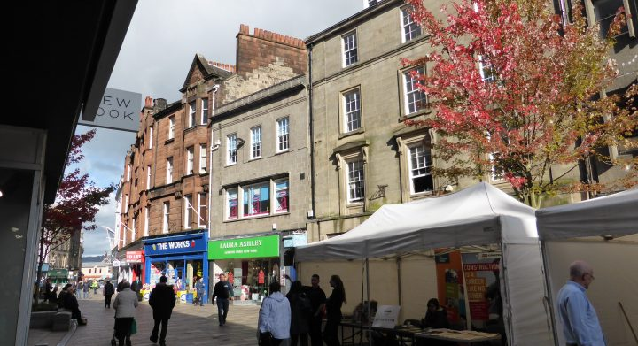 Stirling City Centre Traditional Building Skills event